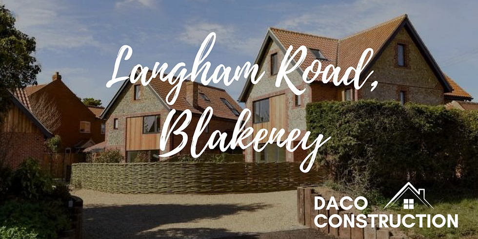 Langham Road, Blakeney | Daco Construction