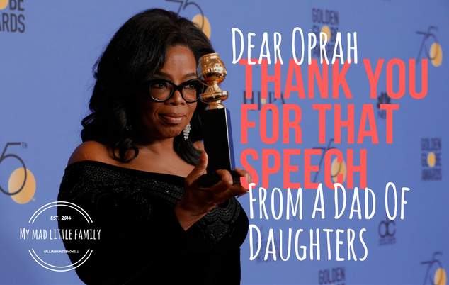 Dear Oprah, Thank You For That Speech...