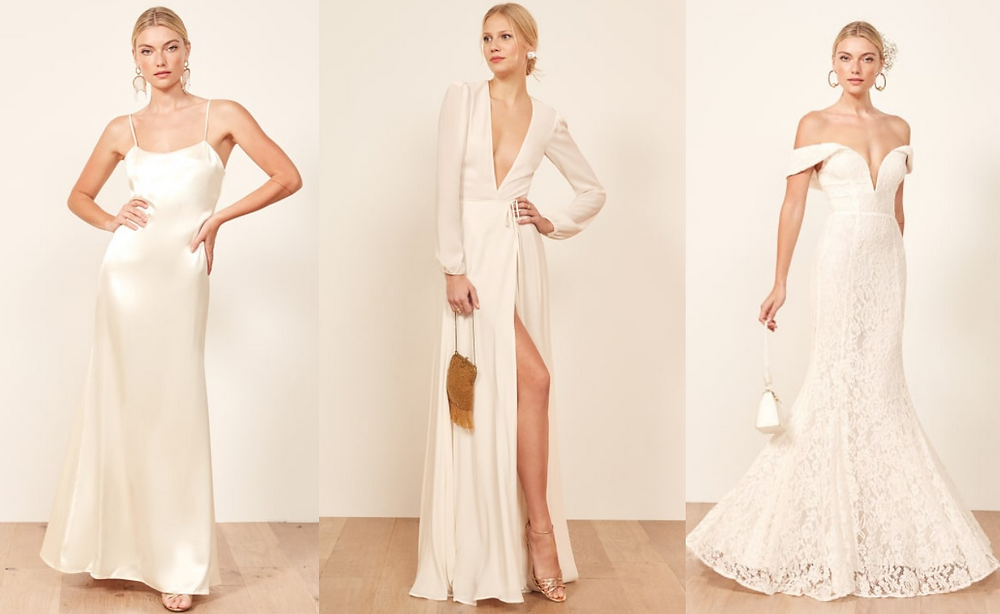 Best High Street Wedding Dresses Reformation