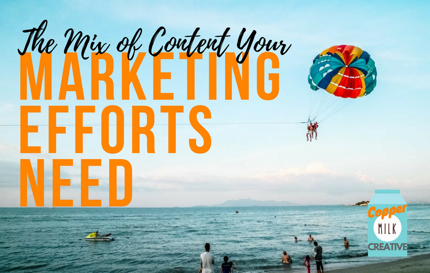 The Mix of Content Your Marketing Efforts Need
