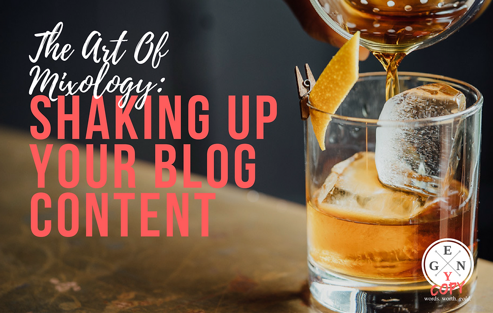 Mixing Up Your Blog Content - Copper Milk Creative