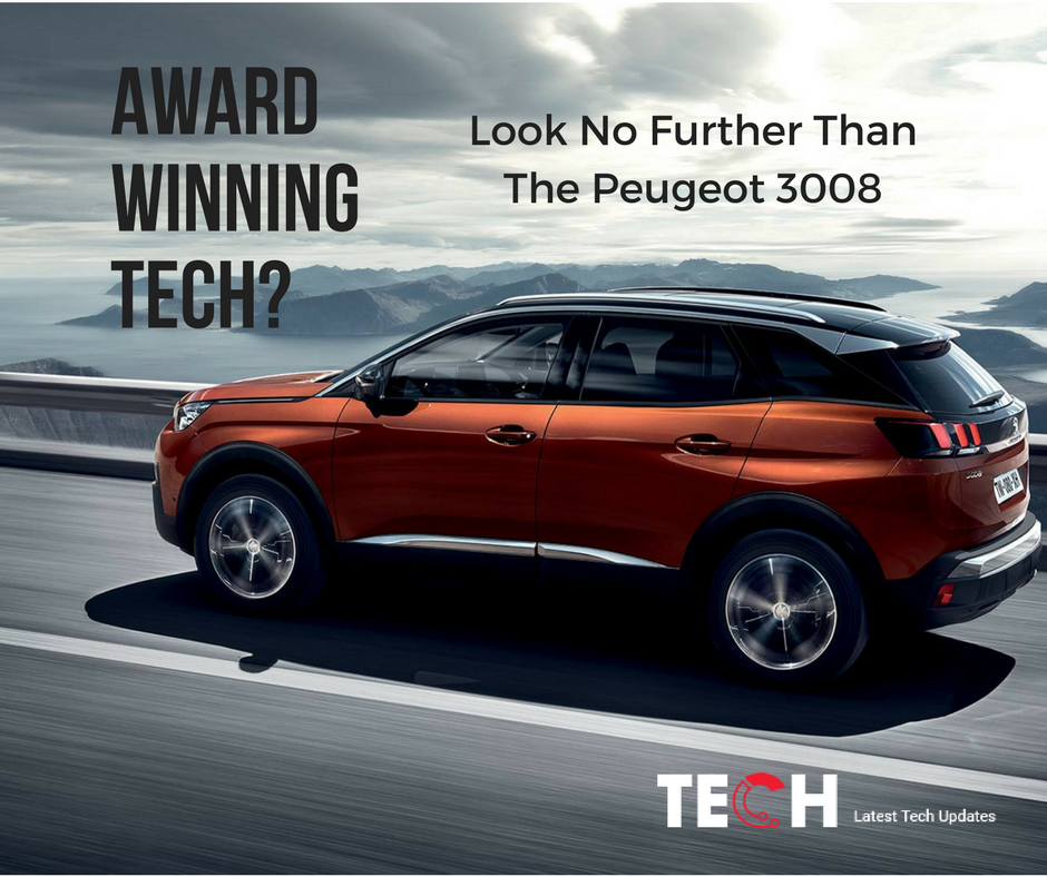 Award-Winning Peugeot 3008