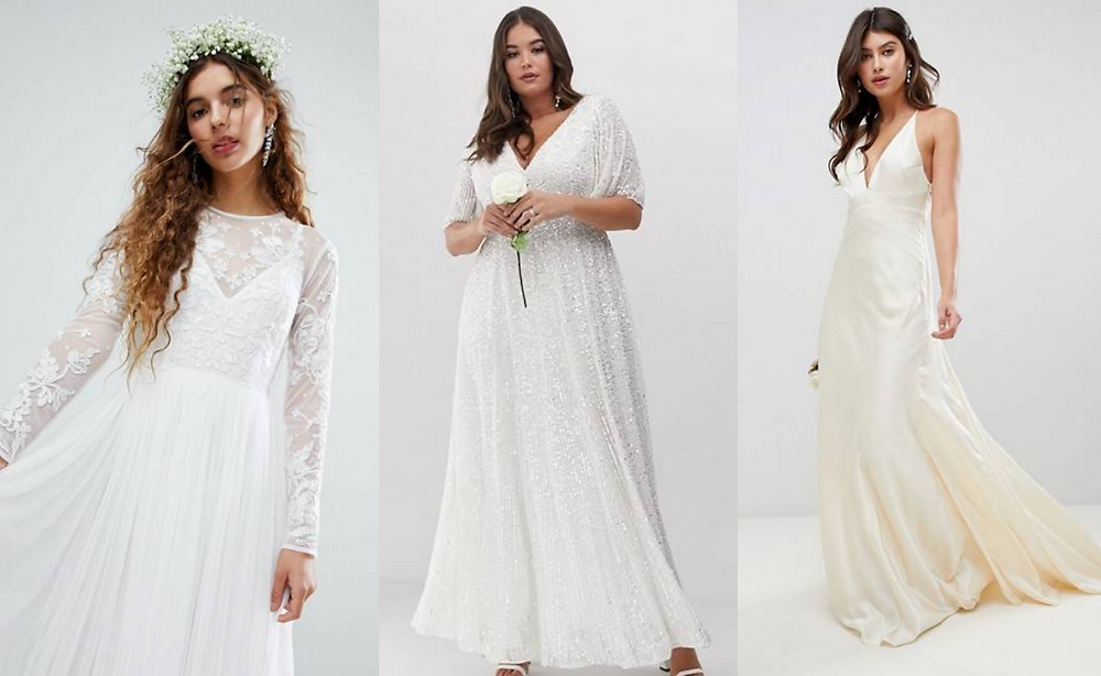 Best High Street Wedding Dresses ASOS
