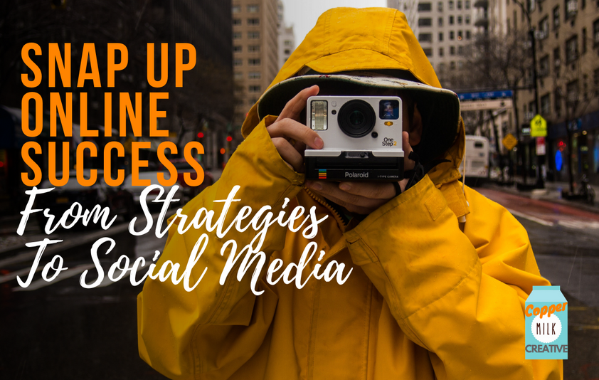 Snap Up Online Success, From Strategies To Social Media