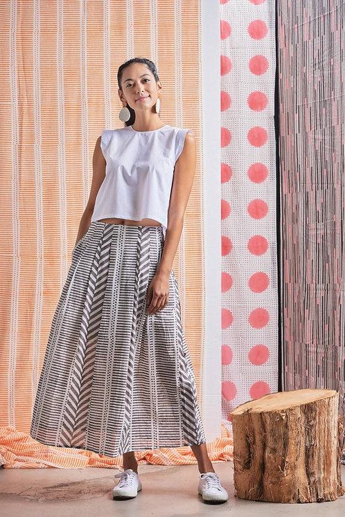 Chaand - Maxi Skirt (Grey)