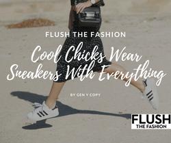 Cool Chicks Wear sneakers