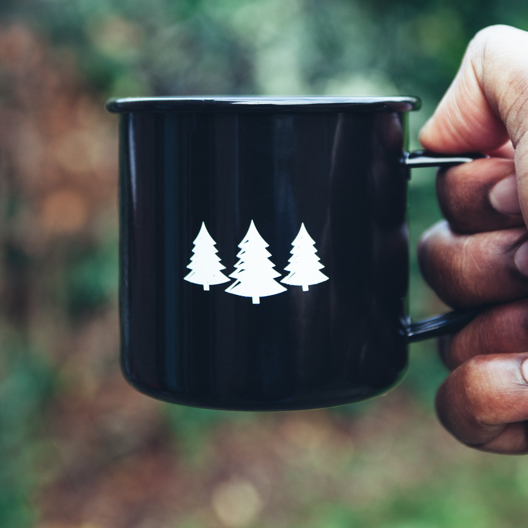 ... and remembering to take coffee on our camping trips.