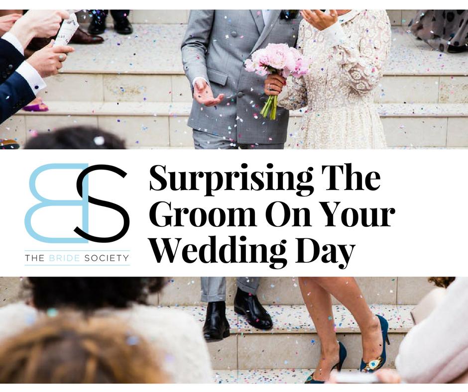 Bride And Groom Wedding Surprise