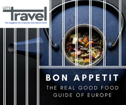 Travel magazine good food europe