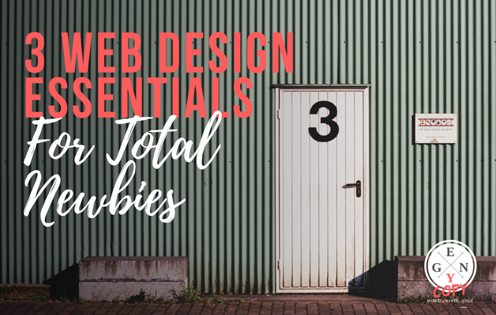 3 Web Design Essentials For Total Newbies