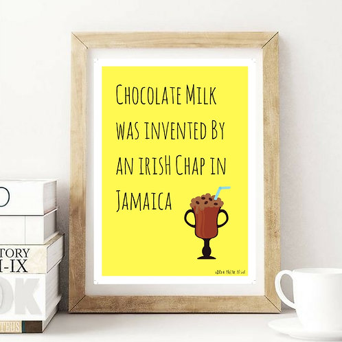 Multicultural Chocolate Milk Print