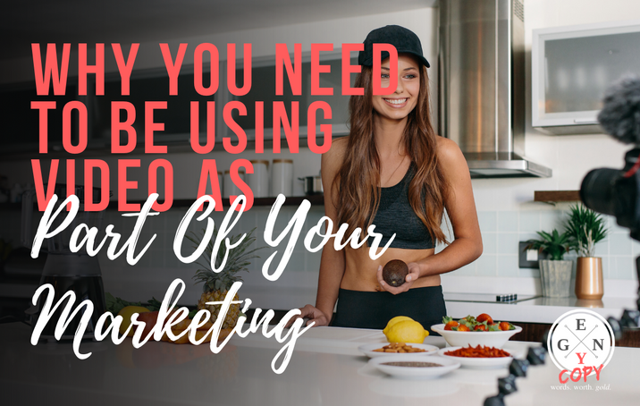 Why You Need To Be Using Video As Part Of Your Marketing