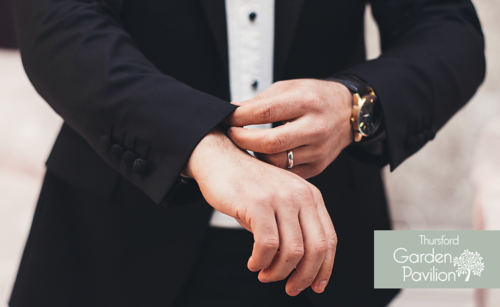 How to buy your groom a watch - Thursford Weddings