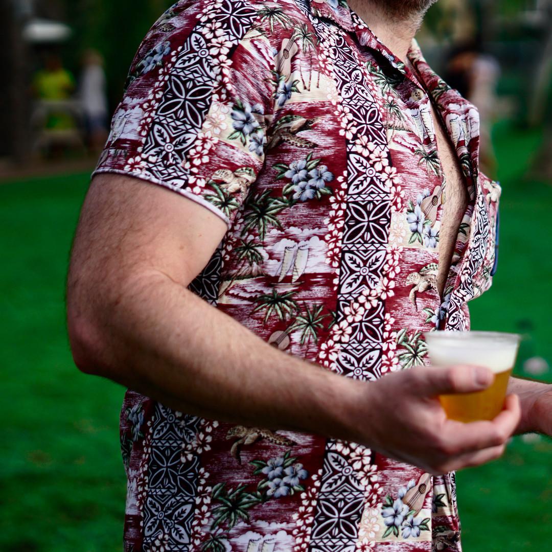 Dodgy Hawaiian shirts...