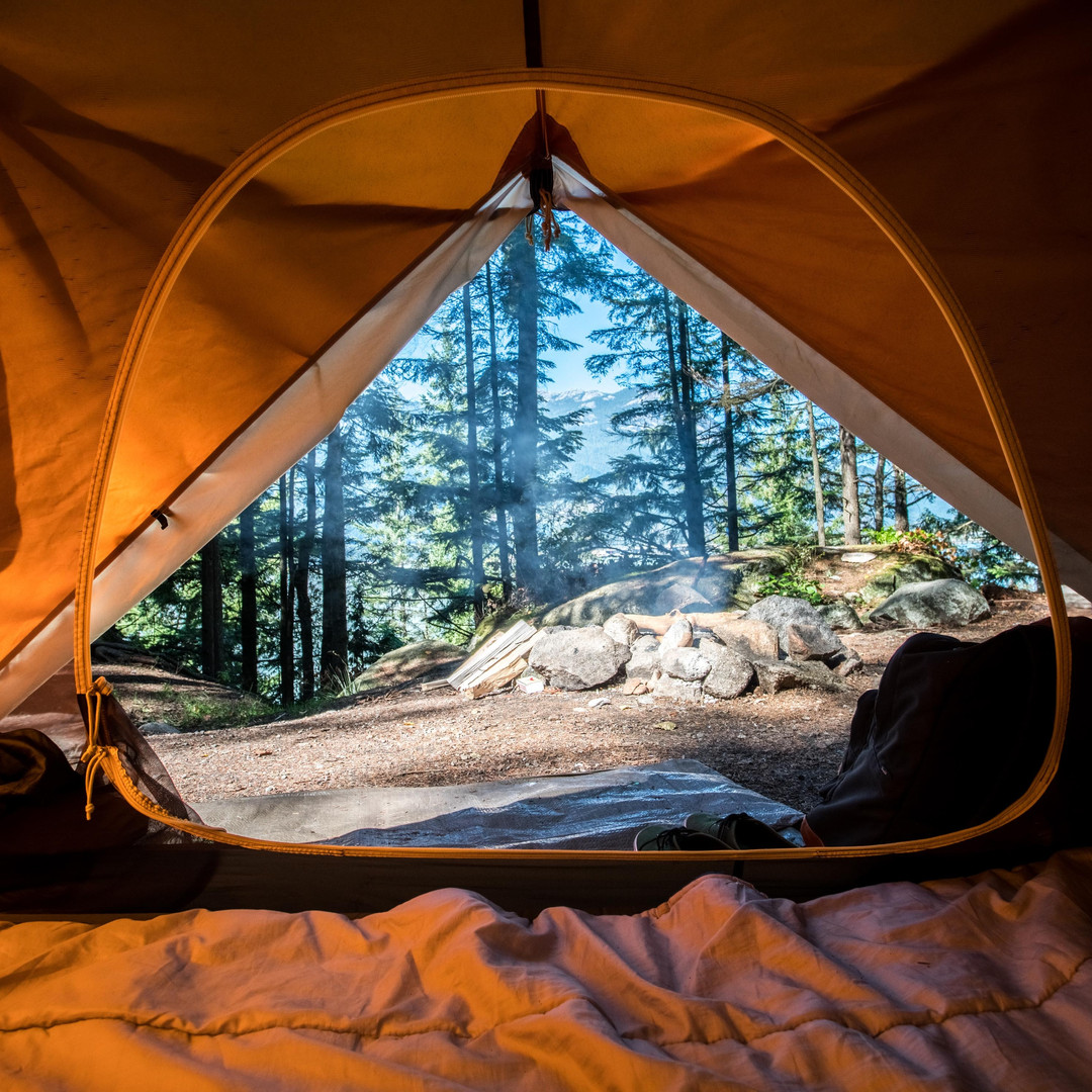 Spontaneous camping trips...
