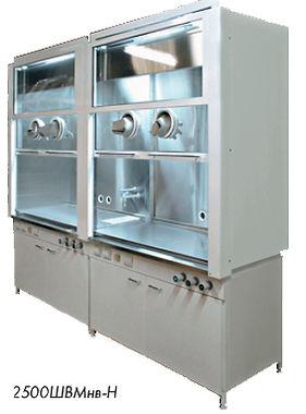Шкафы вытяжные из нержавеющей стали, Вытяжные шкафы, вытяжной шкаф, вытяжка, лабораторный вытяжной шкаф, лабораторная мебель ЛаМО