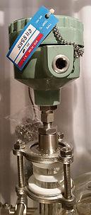 Термодатчик на стеклянном реакторе ABLAZE, реакторы из стекла с термодатчиком