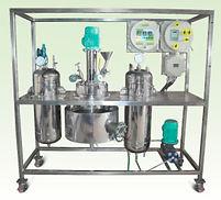 Автоклав NANO MAG, реактор NANO MAG, автоклавы лабораторные с рубашкой и мешалкой, лабораторный реактор из стали