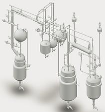 Стеклянный реактор, реактор из стекла, герметичный реактор, вакуумный реактор, напольный вытяжной шкаф, лабораторный реактор купить
