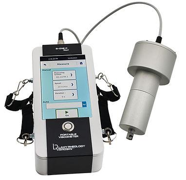 Переносной ротационный вискозиметр Lamy B-One Touch Portable, автономный вискозиметр, вискозиметр ротационный переосной, вискозиметр Брукфильда