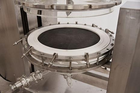 100 литроый нутч-фильтр, нутч-фильтры лабораторные, друк фильтр, ablaze glass works нутч фильтры