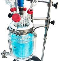 Лабораторный стеклянный реактор Ablaze, химический реактор Radleys, стеклянный реактор 1 литр, реактор из стекла 500 мл, стеклянные реакторы Asahi купить