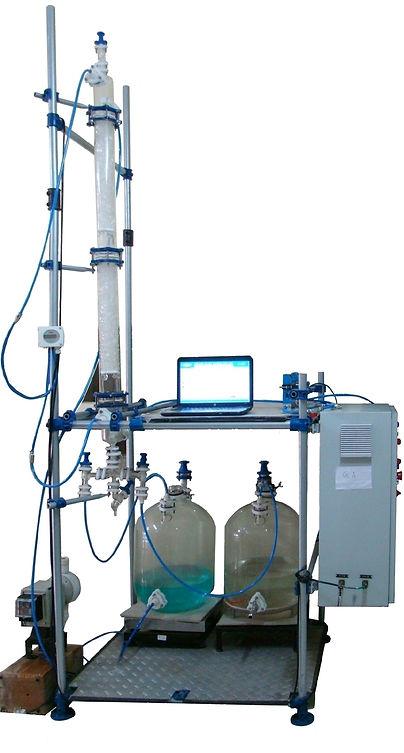 реактор Ablaze, реакторы Ablaze, реакторы из стекла, установка разделения газов, лабораторная система газовой абсорбции, установка абсорбции газов