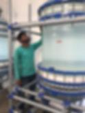 Промышленный стеклянный реактор из стекла 200 литров, стеклянный реактор 100 литров, реакторы из стекла 300 литров
