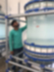 Промышленный стеклянный нутч-фильтр из стекла 200 литров, стеклянный нутч фильтр 100 литров, нутч фильтры из стекла 300 литров