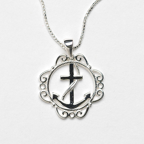 Southern Gates Anchor Necklace