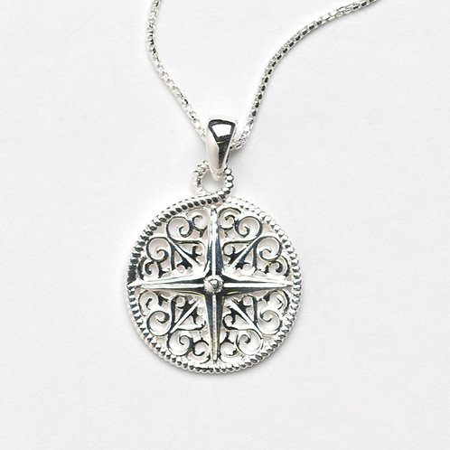 Southern Gates Sand Dollar Necklace