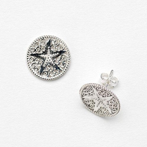 Southern Gates Starfish Stud Earrings