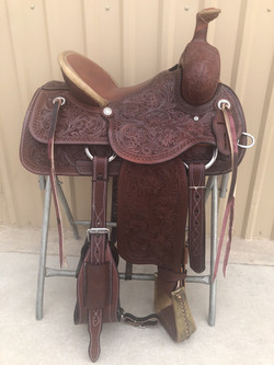 CSA 300Ranch saddle brown