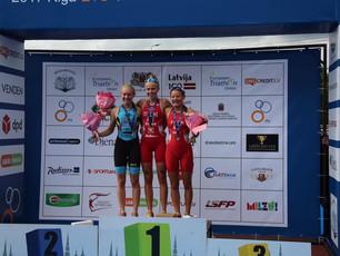 Junioren Europacup Riga - 1.Platz