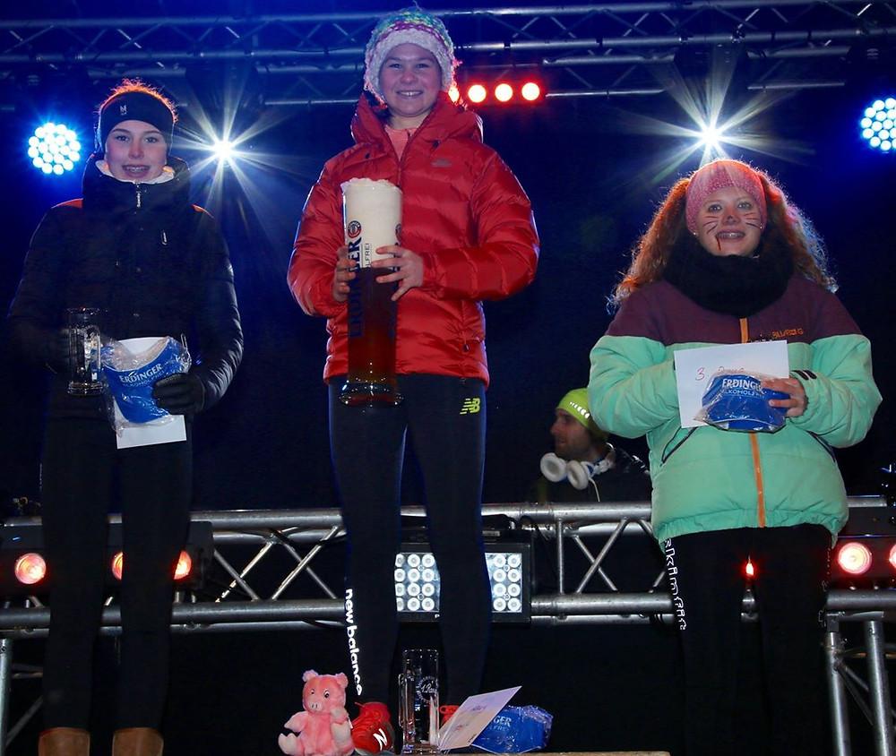Innsbrucker Silvesterlauf 2016 - Platz 2 - Pia Totschnig