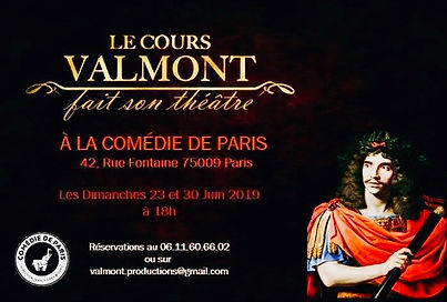 Affiche Cours Valmont 2019