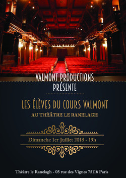 Cours Valmont - Spectacle 2018