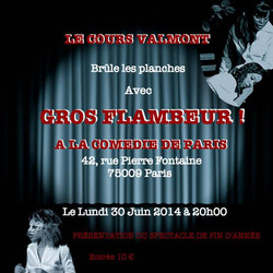Cours Valmont - Spectacle 2014