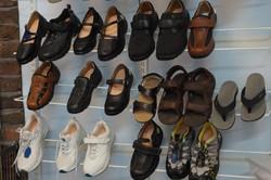 Great range of footwear