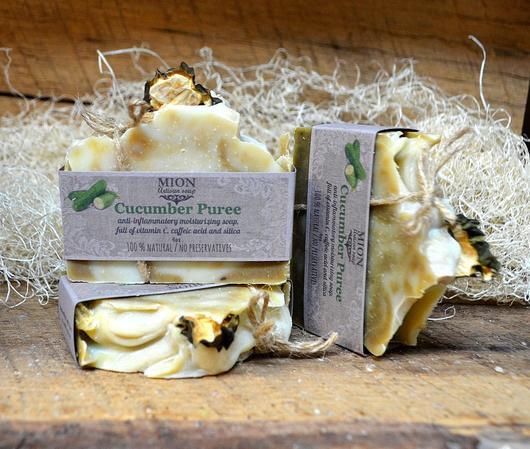Cucumber Puree soap