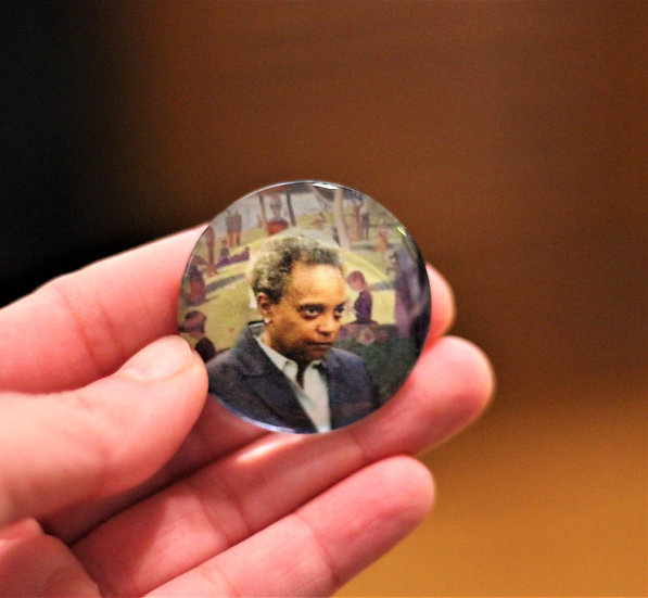 Lori Lightfoot Magnets, Stickers & Cards