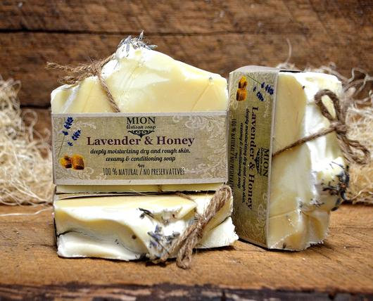 Lavender & Honey Soap