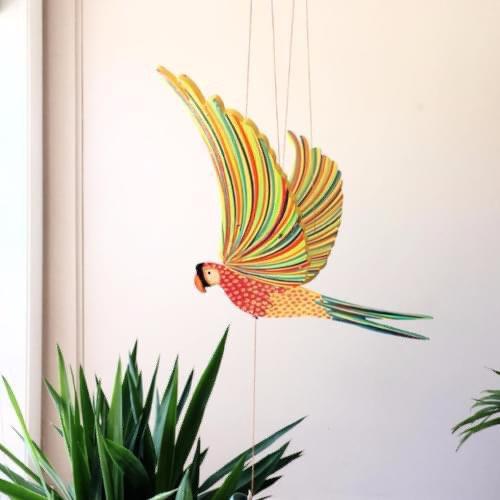Flying bird mobile