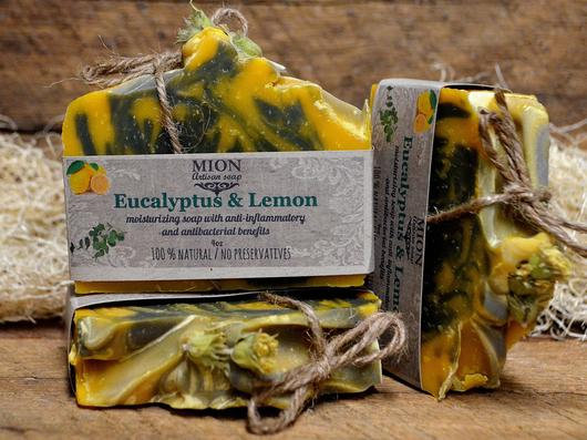 Eucalyptus & Lemon soap