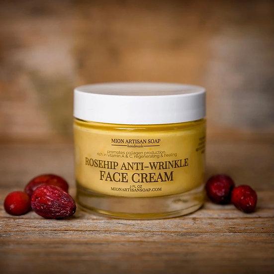 Organic* Rosehip Anti Wrinkle Face Cream
