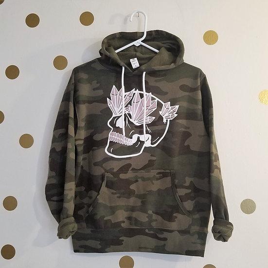 Skull Camo hoodie Sweatshirt