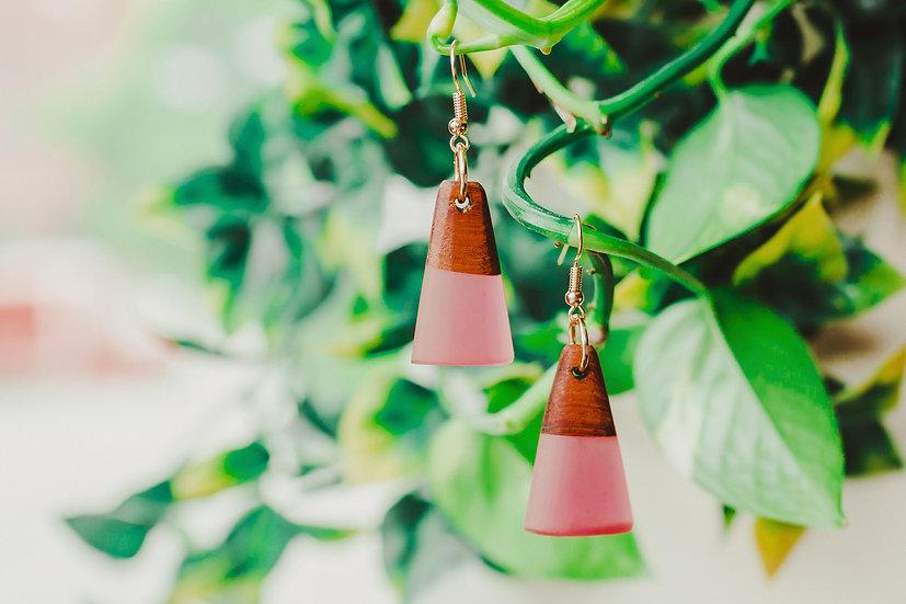 Zara Resin Jewelry, Resin, Resin Earrings, Wooden Earrings