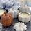 Thumbnail: Sleepy Hollow Pumpkin Chai Ceramic pumpkin Candle