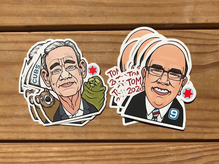 Stickers, water resistant sticker, original artwork