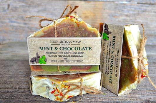 Mint & Chocolate Soap